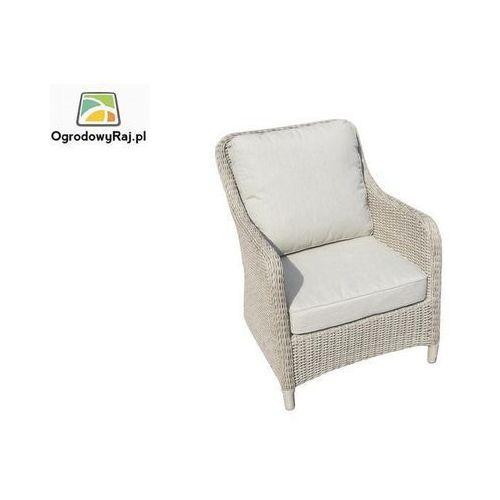 Fotel ogrodowy z podłokietnikami CORTINA 68x82x88 cm CORTINA-FOT-R26/M115 ze sklepu OgrodowyRaj.pl