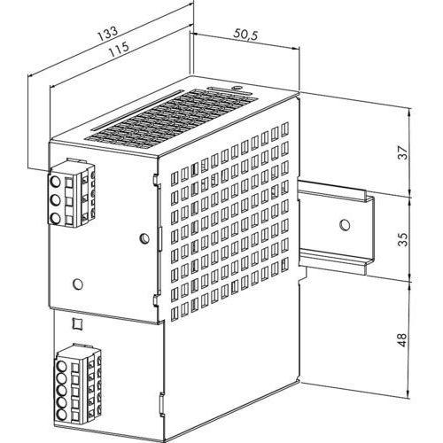 Zasilacz na szynę DIN WAGO 787-692 787-692, 30,5 V/DC (SELV) z kategorii Transformatory