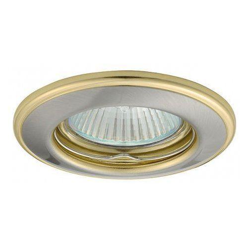 Kobi Oprawa oprawka led halogenowa stała okrągła kolor satyna/złoty OH114 4310 z kategorii oświetlenie