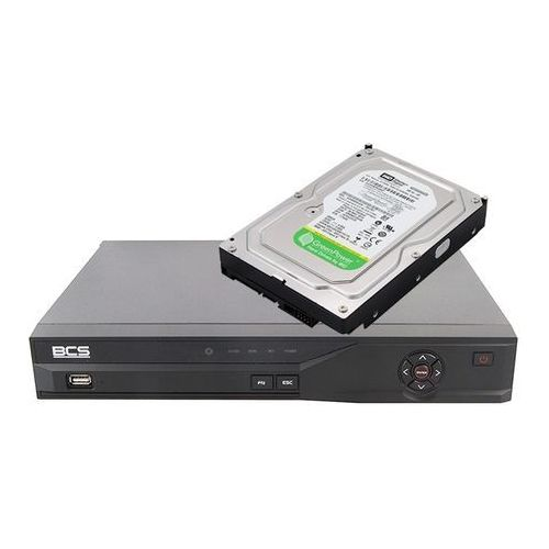 Rejestrator BCS DVR 1601ME + Dysk twardy 500 GB AV GP
