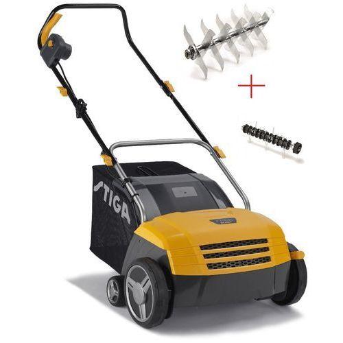 Wertykulator areator elektryczny  sv 213 e + dostawa gratis - raty 0% od producenta Stiga