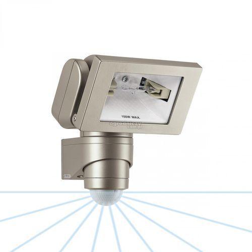 STEINEL Reflektor halogenowy z czujnikiem ruchu HS 150 DUO platynowy TRANSPORT GRATIS ! sprawdź szczegóły w ogrodniczy.com.pl
