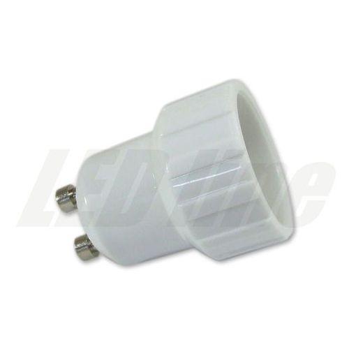LED line Przejściówka adapter żarówki GU10 > E14 3015 z kategorii oświetlenie