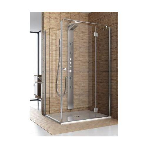 Oferta AQUAFORM drzwi Sol De Luxe 80 uchylne, montaż ze ścianką 103-06049/103-06050 (drzwi prysznicowe)