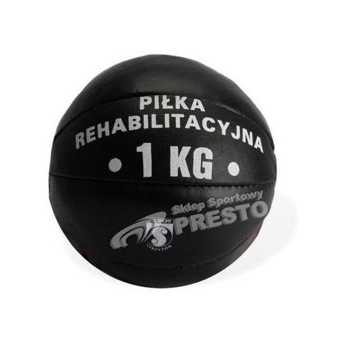 Piłka rehabilitacyjna skórzana 1kg , produkt marki Meteor