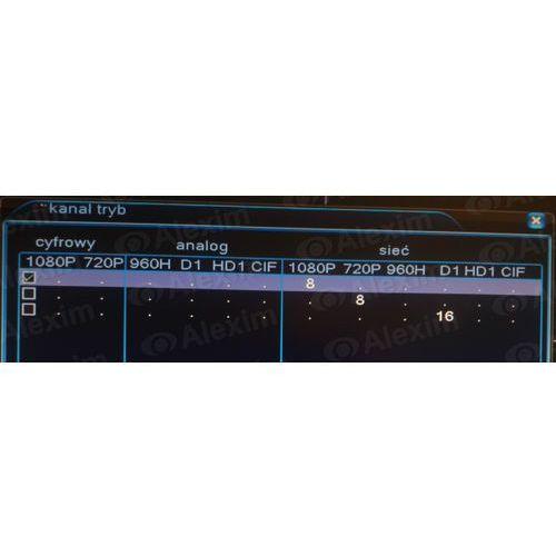 Rejestrator nvr-ip axr nvr60n08-y wyprodukowany przez Alexim