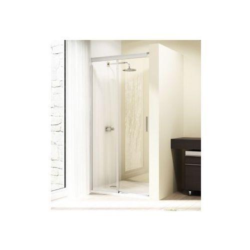 HUPPE DESIGN ELEGANCE 4kąt drzwi suwane 1-częściowe ze stałym segmentem 8E0101 (drzwi prysznicowe)