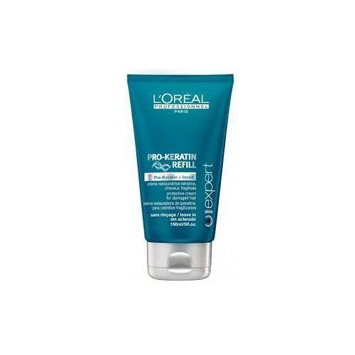 Loreal Pro-Keratin Refill, ochronny krem przed suszeniem, 150ml - szczegóły w dr włos