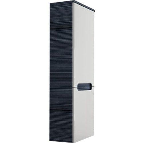 Produkt z kategorii- regały łazienkowe - CLASSIC -Słupek boczny SB-350, biały/Strip Onyx P