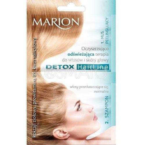 Produkt z kategorii- pozostałe kosmetyki do włosów - Marion Oczyszczająco-odświeżająca terapia, 23 ml