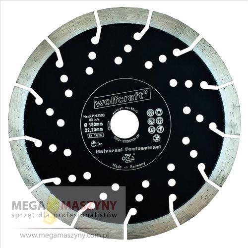 WOLFCRAFT Tarcza tnąca diamentowa PROFI 230 mm ze sklepu Megamaszyny - sprzęt dla profesjonalistów