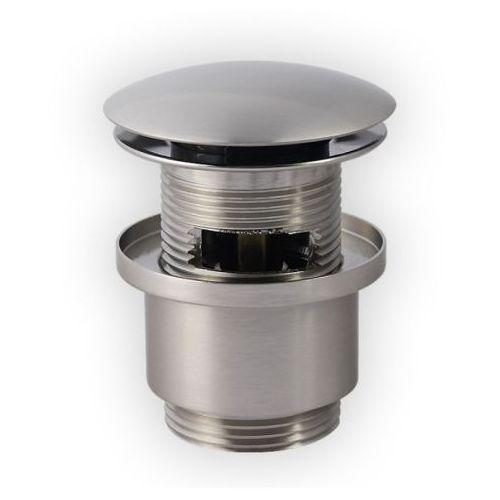 Produkt z kategorii- pozostałe artykuły hydrauliczne - Korek click-clack KOSS nikiel szczotkowany Novoterm