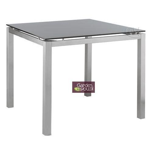 Stół ze stali szlachetnej 85x85 Avanti w kolorze srebrnym (stół ogrodowy)