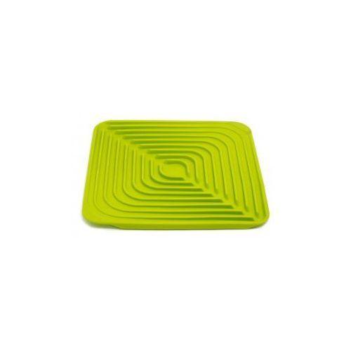 JJ - Składany ociekacz do naczyń FLUME, zielony - produkt z kategorii- suszarki do naczyń