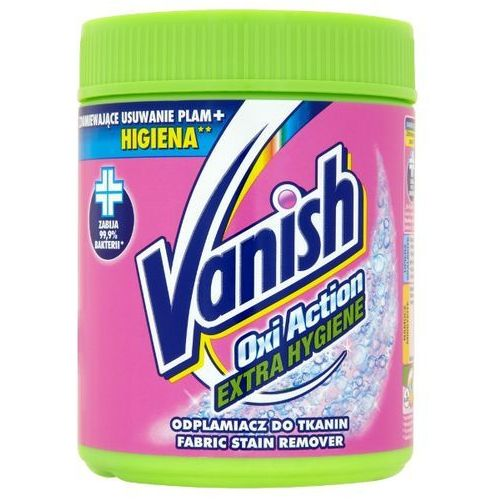 VANISH 470g Oxi Action Extra Hygiene Odplamiacz do tkanin, Vanish z bdsklep.pl