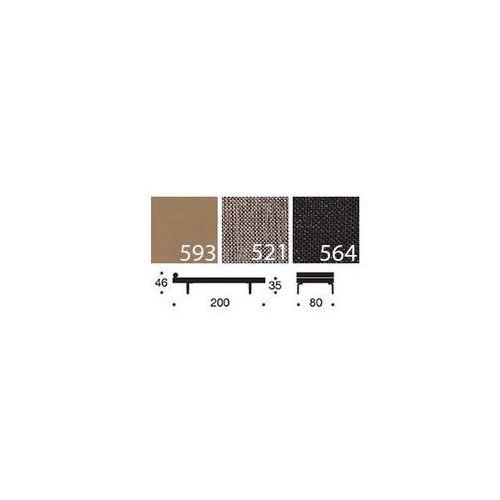 Sofa Napper szarobeżowa 521 nogi jasne drewno Stem  740030521-740032-1, INNOVATION iStyle