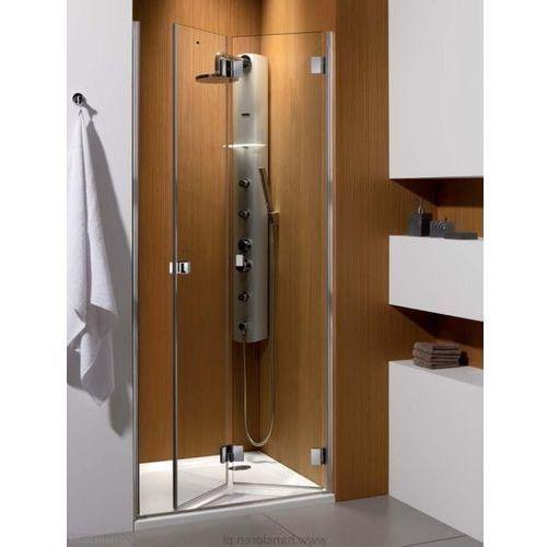 Carena DWB Radaway drzwi wnękowe 893-905x1950 chrom szkło brązowe prawe - 34502-01-08NR (drzwi prysznicowe)