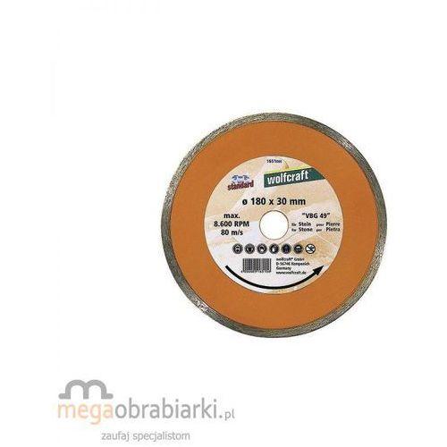 Oferta WOLFCRAFT Tarcza tnąca diamentowa Standard-Ceramic 180 x 30/25,4 mm RATY 0,5% NA CAŁY ASORTYMENT DZWOŃ 77 415 31 82