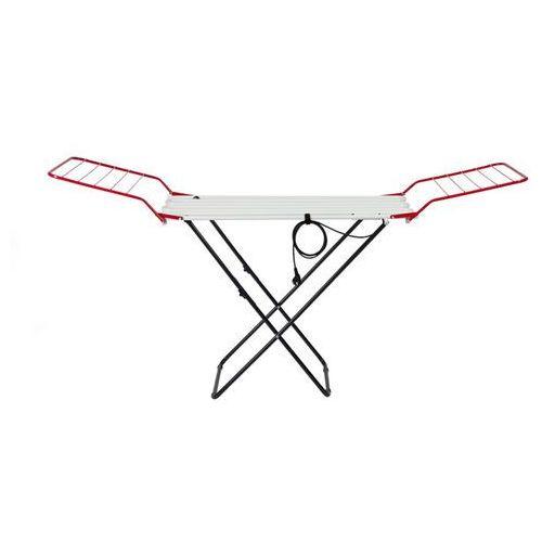 Instal-projekt Grzejnik  suszarka totu-60/110a1700/32c35 - wieszaki czerwone, nogi czarne, kategoria: pozostałe ogrzewanie