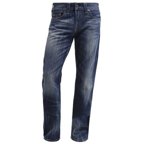 True Religion GENO Jeansy Slim fit destroyed denim - produkt z kategorii- spodnie męskie