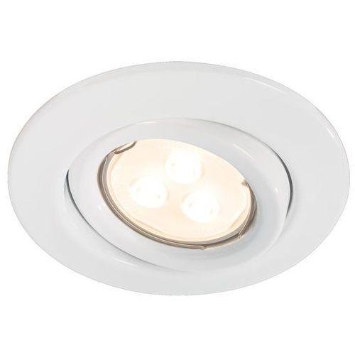 Quality LED oprawy 3x3,5W GU10 białe z kategorii oświetlenie