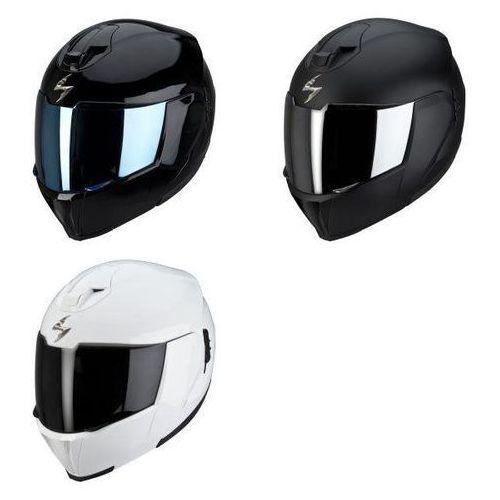 SCORPION KASK EXO-910 AIR SOLID BLACK, MATTE BLACK, WHITE, Scorpion