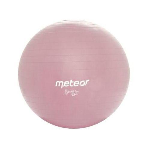 Piłka fitness  45 cm z pompką, produkt marki Meteor
