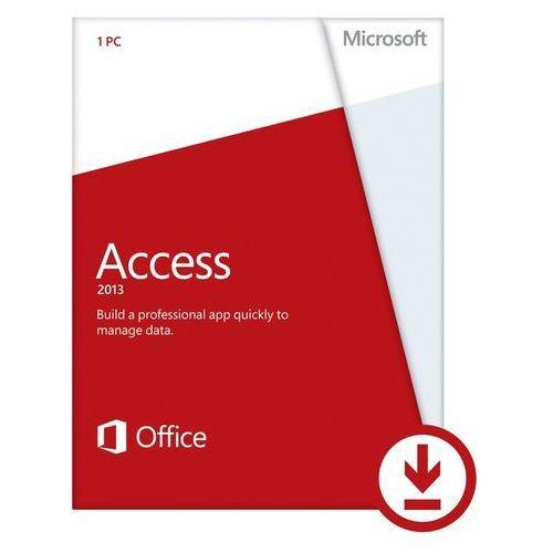Produkt z kategorii- pozostałe oprogramowanie - Microsoft Access 2013 32-bit/x64 ENG Win ESD