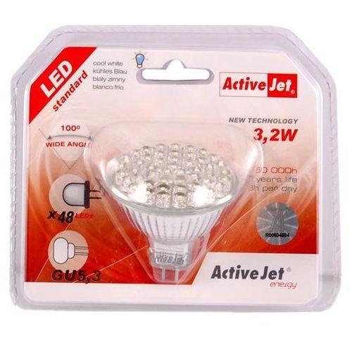 Lampa LED ACTIVEJET Szerokokątna AJE-W4853CW z kategorii oświetlenie