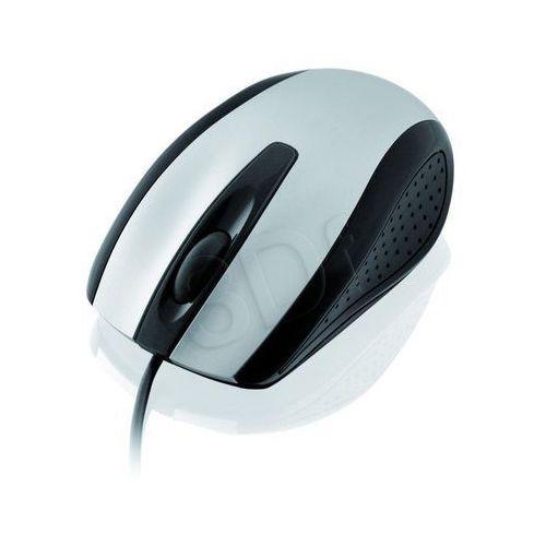 Mysz I-Box Finch Optyczna Przewodowa, Ps2 Silver z kat.: myszy, trackballe i wskaźniki