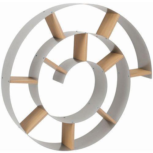 Design & the City Snail Półka Srebrna Lakierowany Metal 75x75 cm (70755), marki Kare Design do zakupu w sfme