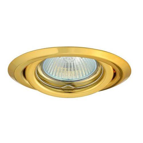 Oprawa halogenowa ruchoma HDL15 złota z kategorii oświetlenie
