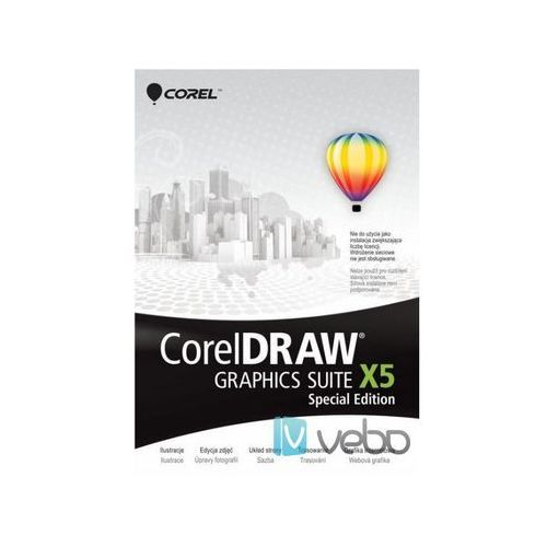 Draw graphics suite x5 special edition pl box od producenta Corel