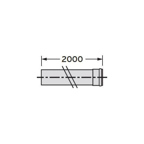 Oferta Vaillant Rura przedłużająca 2,0 m (Ø 80), PP z kat.: ogrzewanie