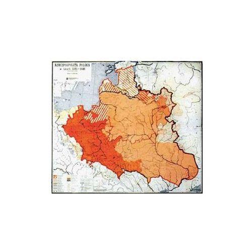 Produkt Rzeczpospolita Polska w latach 1505-1648. Mapa ścienna., marki Nowa Era