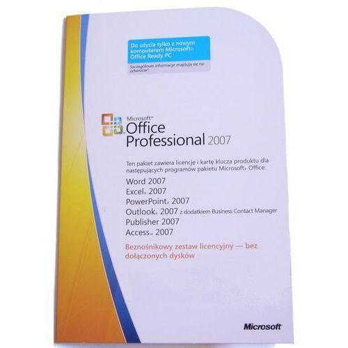 office 2007 professional pl oem (licencja bez nośnika) (269-11621), marki Microsoft