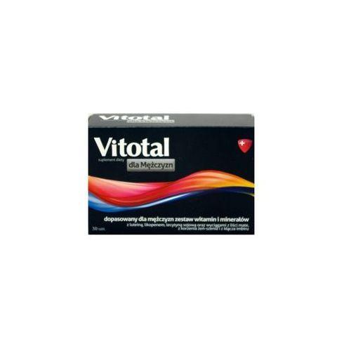 Vitotal dla mężczyzn x 30 tabl., postać leku: tabletki