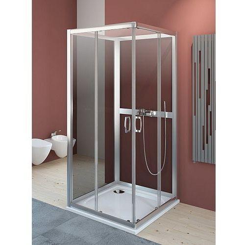 Premium Plus 2S Radaway Komplet ścianek tylnych 90x90 szkło fabric 33433-01-06N (drzwi prysznicowe)