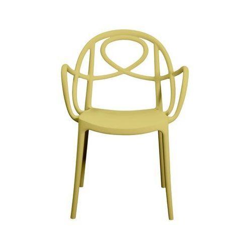 Krzesło ogrodowe Green Etoile P żółte ze sklepu All4home