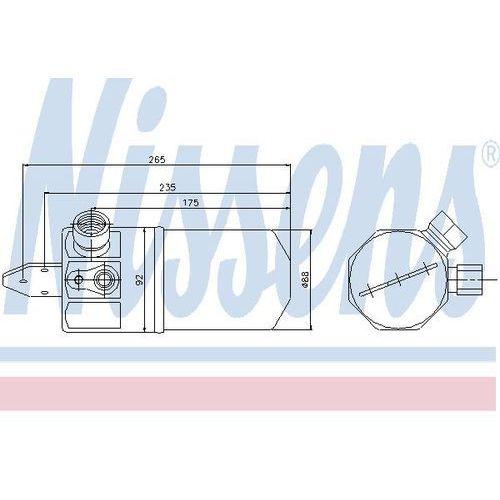 Towar z kategorii: osuszacze powietrza - Osuszacz, klimatyzacja NISSENS 95318
