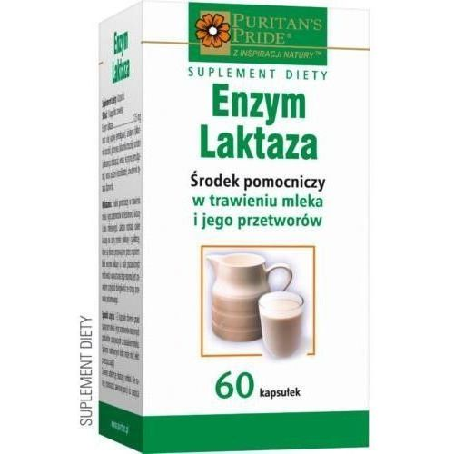 Enzym laktaza x 60 kaps - produkt farmaceutyczny