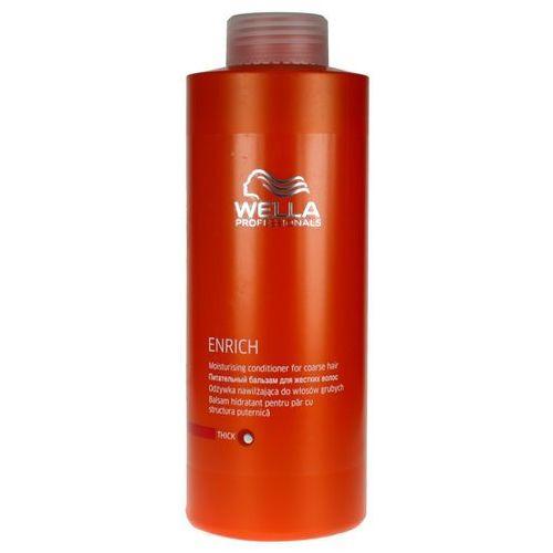 Wella Enrich Moisturising - odżywka nawilżająca do włosów grubych 1000ml - produkt z kategorii- odżywki do włosów