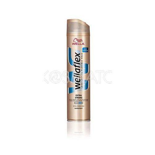 Produkt z kategorii- pozostałe kosmetyki do włosów - Wellaflex Extra Strong Lakier, 250 ml
