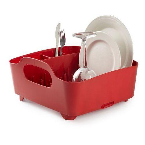 Umbra Tub Czerwony Ociekacz Do Naczyń - 330590-505 - produkt z kategorii- suszarki do naczyń
