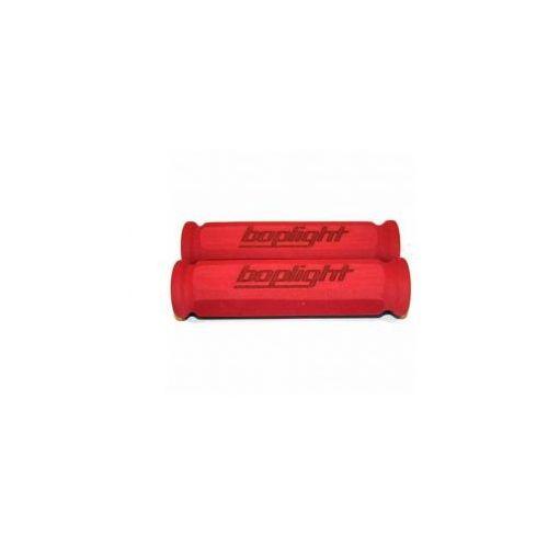 Chwyty do kierownicy Boplight Race 130 mm czerwone - oferta [15234874b755446d]
