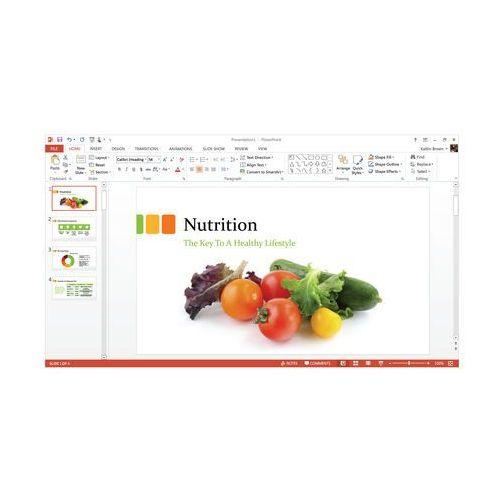 Microsoft Office 365 dla Użytkowników Domowych z kategorii Programy biurowe i narzędziowe