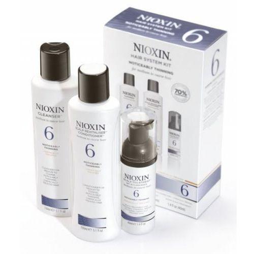Nioxin System 6 - Zestaw do włosów znacznie przerzedzonych, zniszczonych, grubych - szczegóły w Estyl.pl