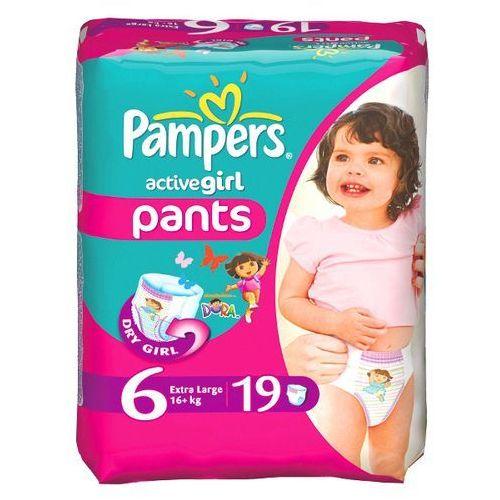 PAMPERS 19szt Active Girl Extra Large (16+ kg) pieluchomajtki, kup u jednego z partnerów