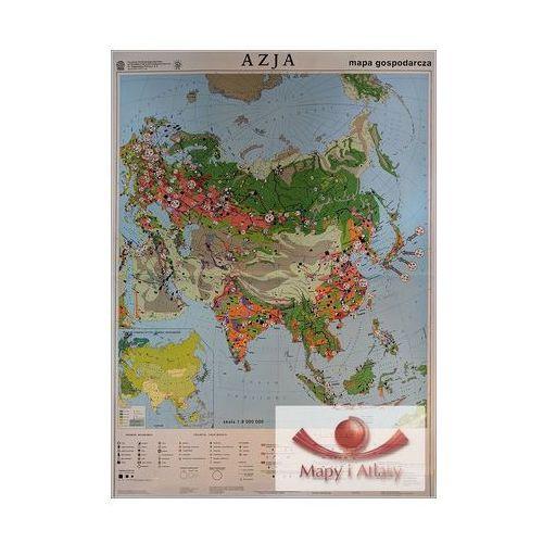 Azja. Mapa ścienna gospodarcza, produkt marki Nowa Era
