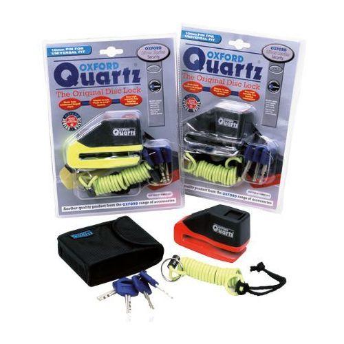 Blokada Tarczy Hamulcowej Oxford Quartz, kolor pomarańczowy lub chrom (alarm motocyklowy)